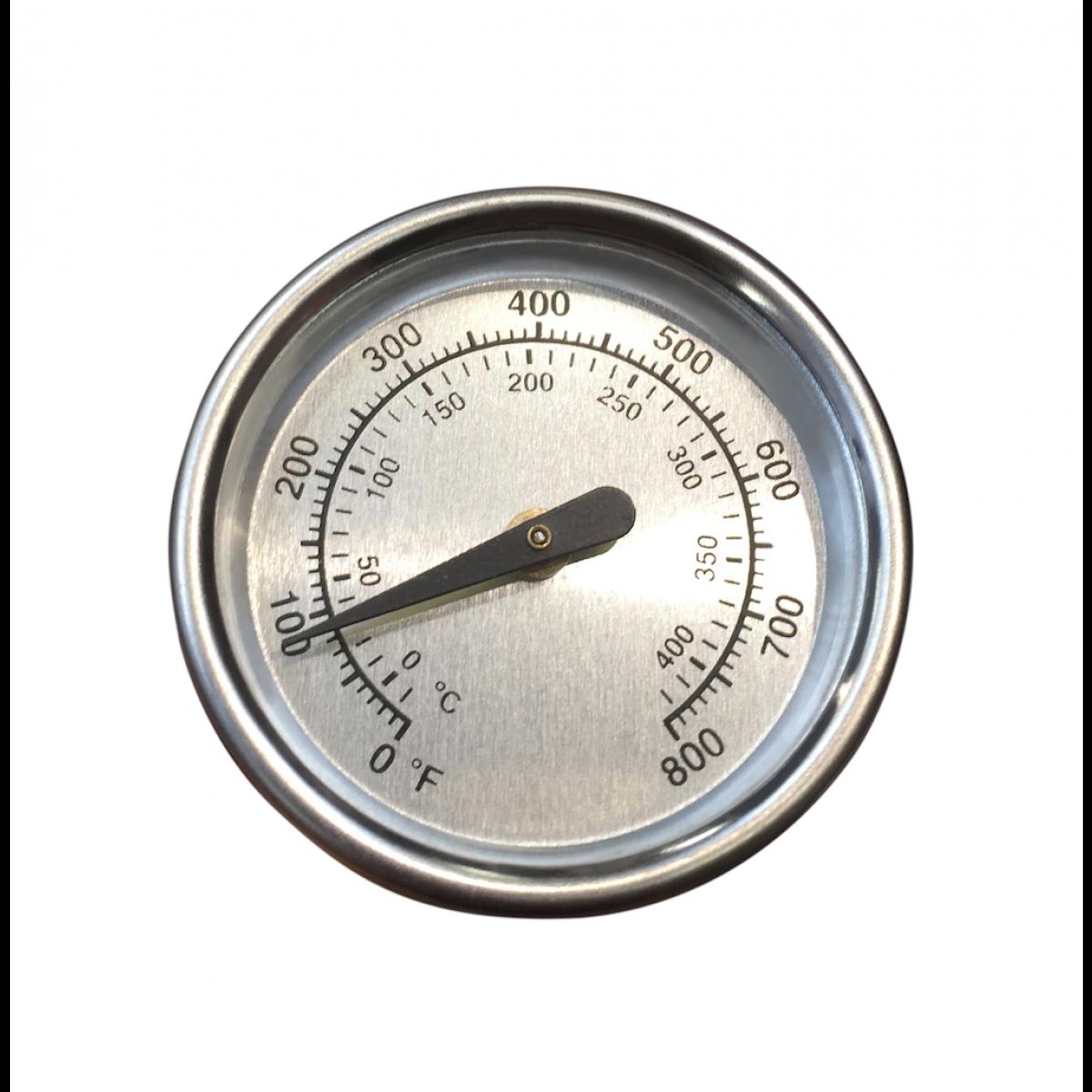 Top Termometer til grill låget - Passer til stort set alle grills PI61