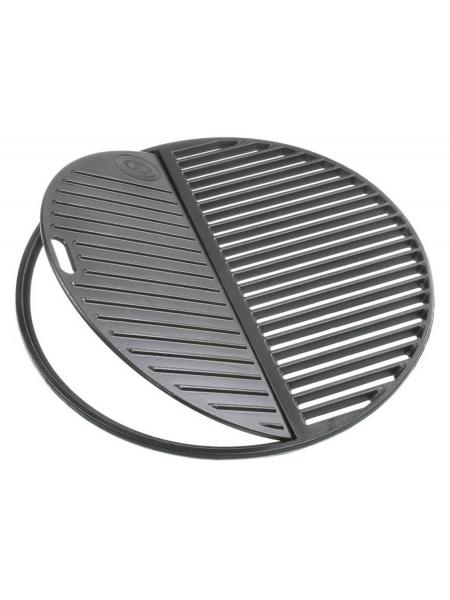 Støbejernsrist - 2 - delt diameter 45 cm til 480