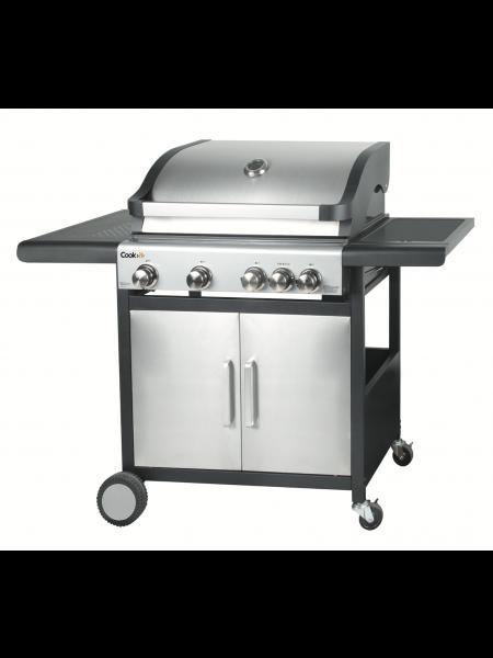 Cook It Samsø 4 Brænder gasgrill + sidebrænder